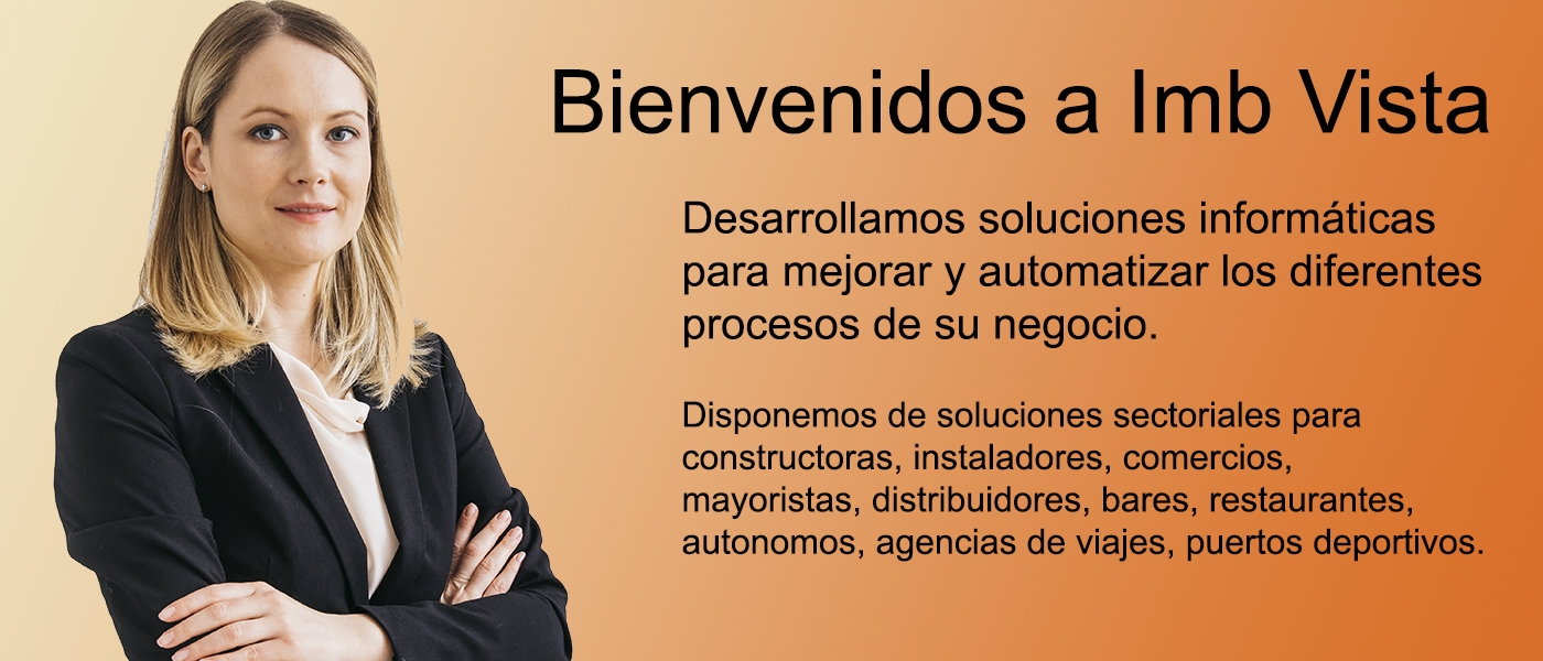 Todo tipo de soluciones de software para constructoras, instaladores, comercios, mayoristas, distribuidores, bares, restaurantes, autónomos, agencias de viajes, puertos deportivos